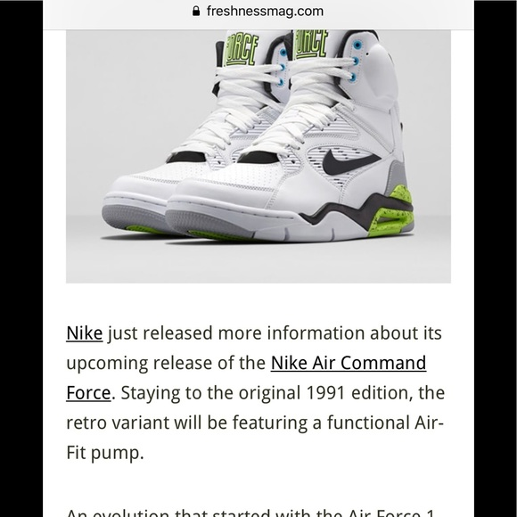 8f481046ba95 LN4 Nike Air Command force men s collectible